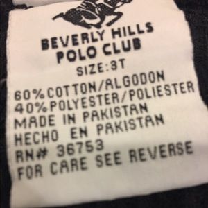 Beverly Hills Polo Club Matching Sets - Thermal set